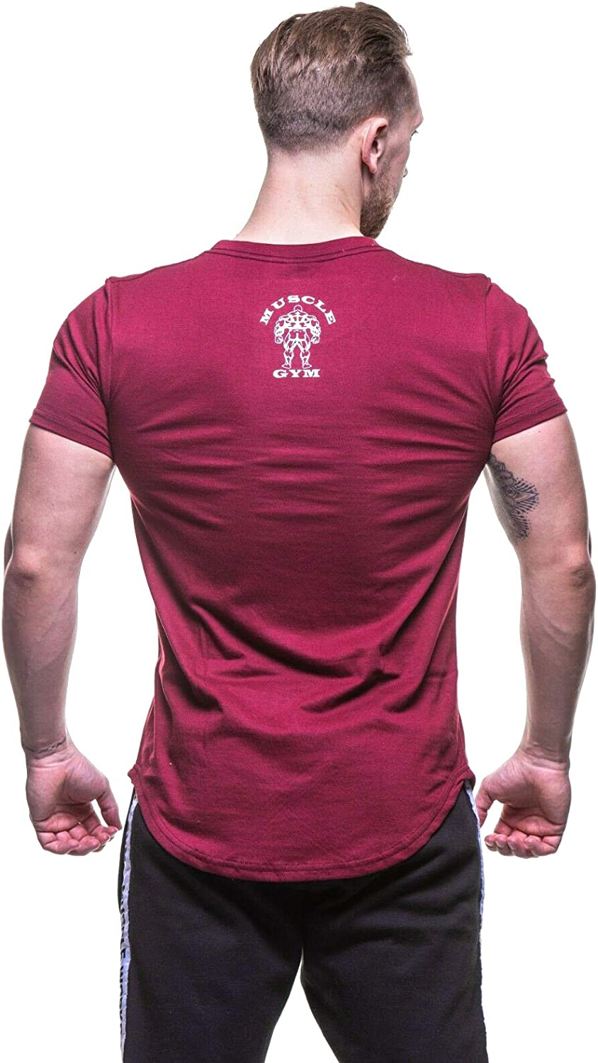 Stringers Bodybuilding T-Shirts Muscle Fit MUSCLE GYM Mens T-Shirt Top