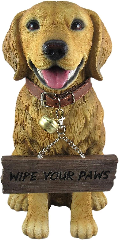 DWK Dog Lovers Dog Signs | Home Decor | Outdoor Sign | Yard Art | Husky Lovers Decor | Rustic Home Decor | Outdoor Decor | Porch Decor and Signs (Golden Retriever)