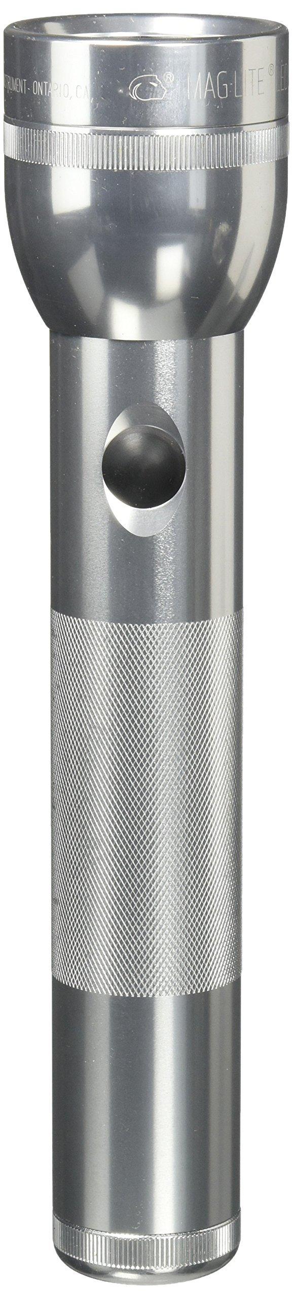 Linterna Maglite : LED 2-Celdas D en Display Box Silver