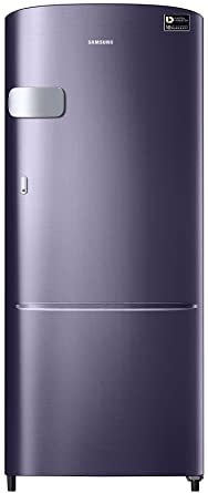 Samsung 192 L 5 Star Direct Cool Single Door Refrigerator(RR20M1Y2XUT, Pebble Blue, Inverter Compressor)