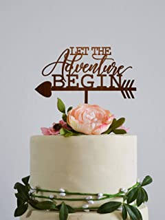 Amazon.com: Unique wedding toppers Mr and Mrs cake topper michaels ...