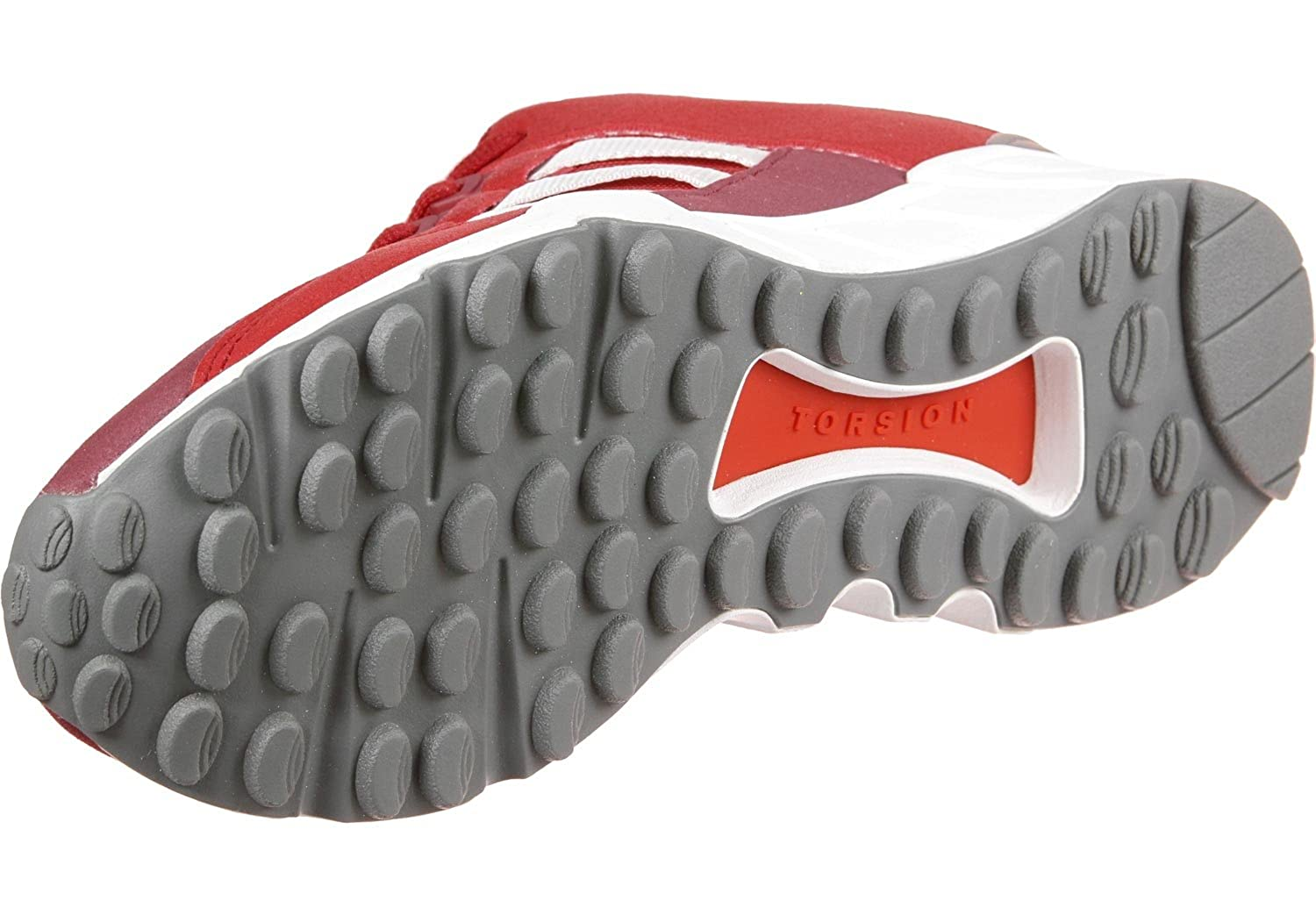 newest aa53b b508f Amazon.com adidas EQT Support RF - BY9620 - Color White-Red-Grey - Size  8.0 Shoes