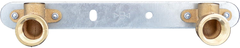1//2 Montaje sanicomfort Unidad de pared para grifos 15 mm x 12.7 mm