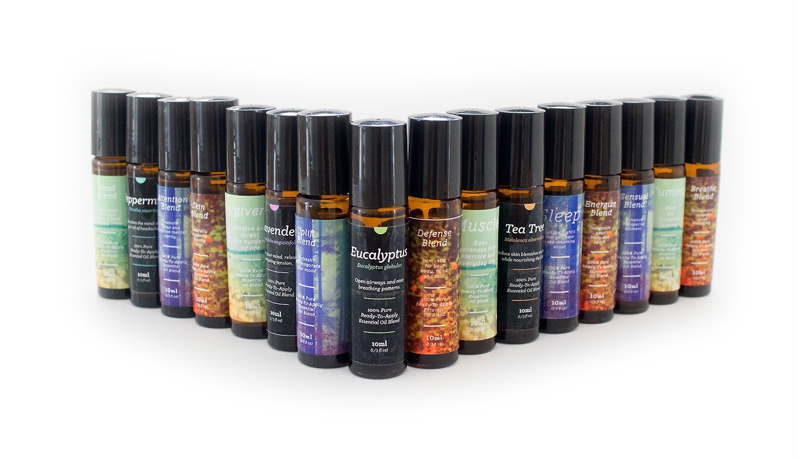 Complete Roll-On Essential Oil Kit