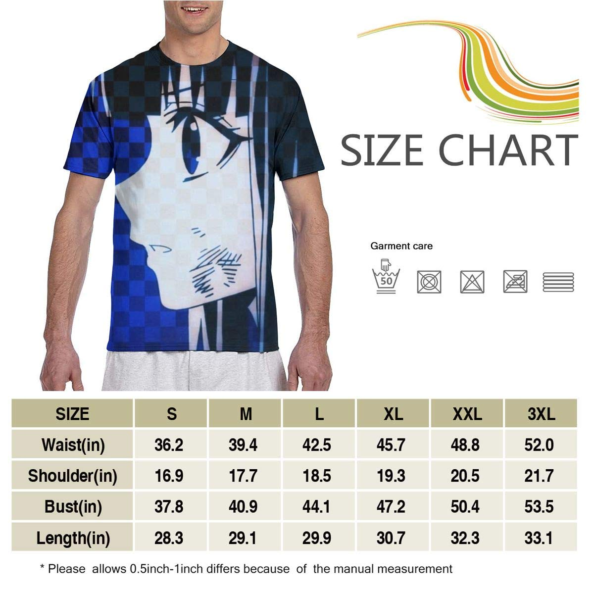 JHTHYAU Mens Short-Sleeve Cat Quick Dry Slim Fit Casual Tee Shirt