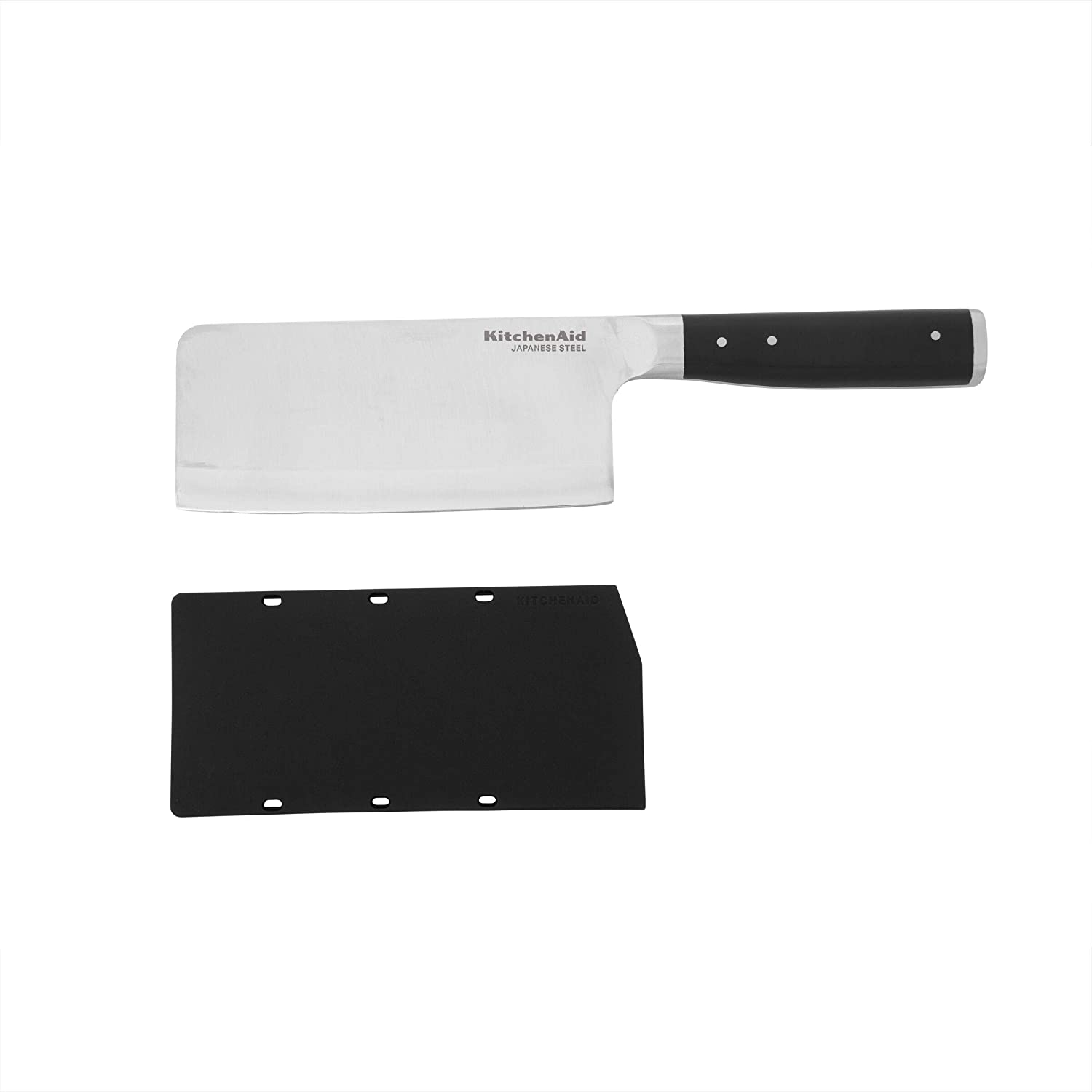 KitchenAid Gourmet Forged Cleaver Knife, 6-Inch, Black