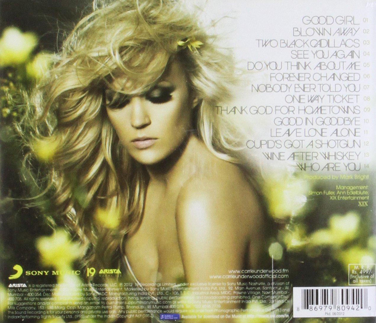 Blown Away by Carrie Underwood: Amazon.co.uk: Music