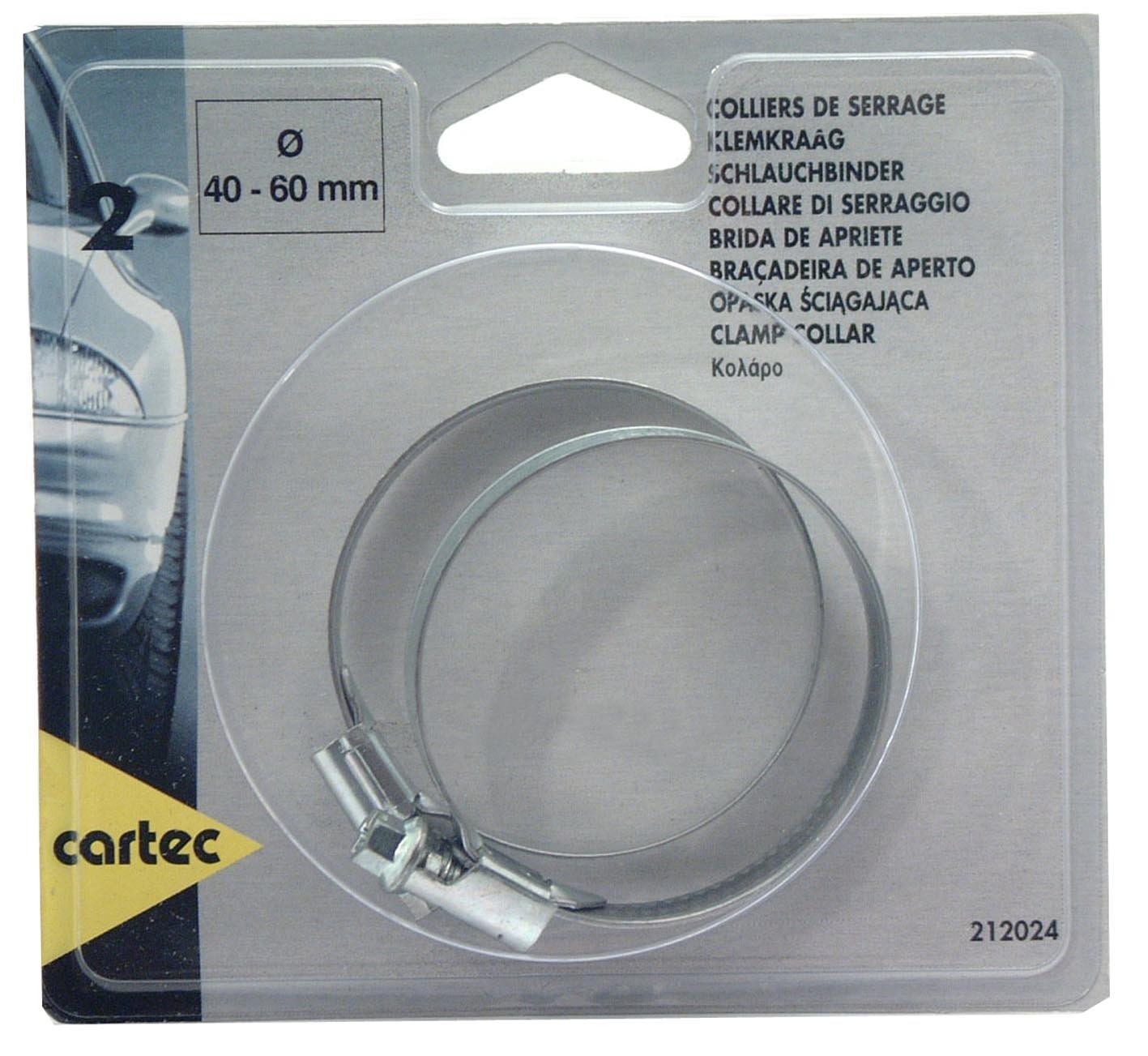 Cartec 212024 2 Colliers de Serrage 40-60 mm