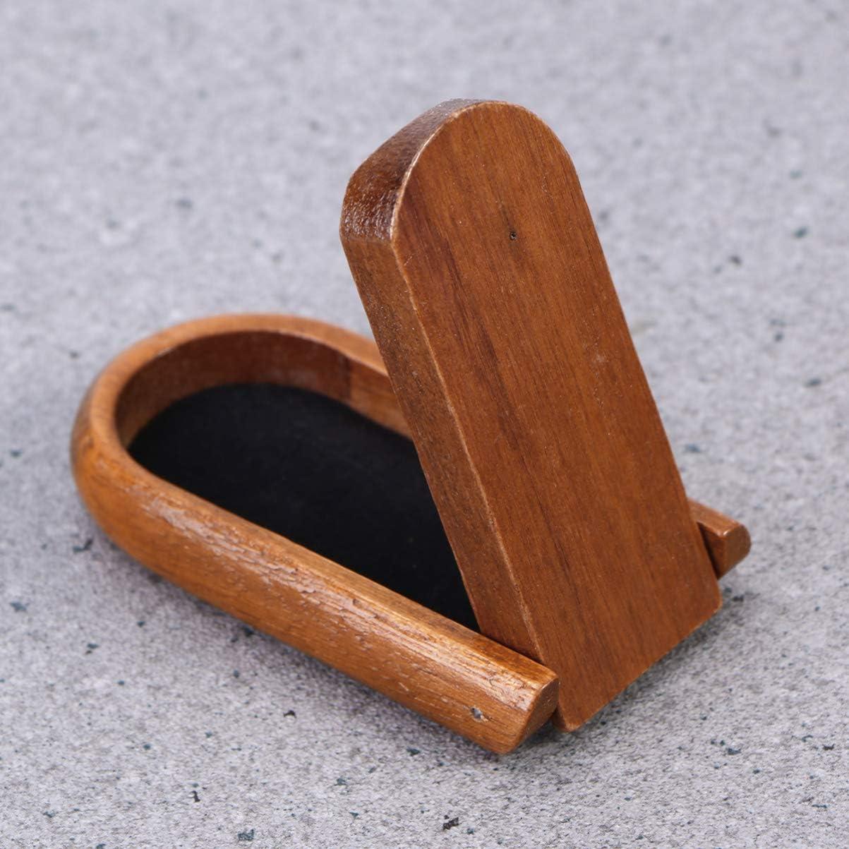 Garneck Soporte de Pipa de Madera Soporte de Pipa de Tabaco Soporte de Pipa de Madera Plegable Accesorios de Pipa de Fumar Pipa para Fumar Pipa de Tabaco de Madera