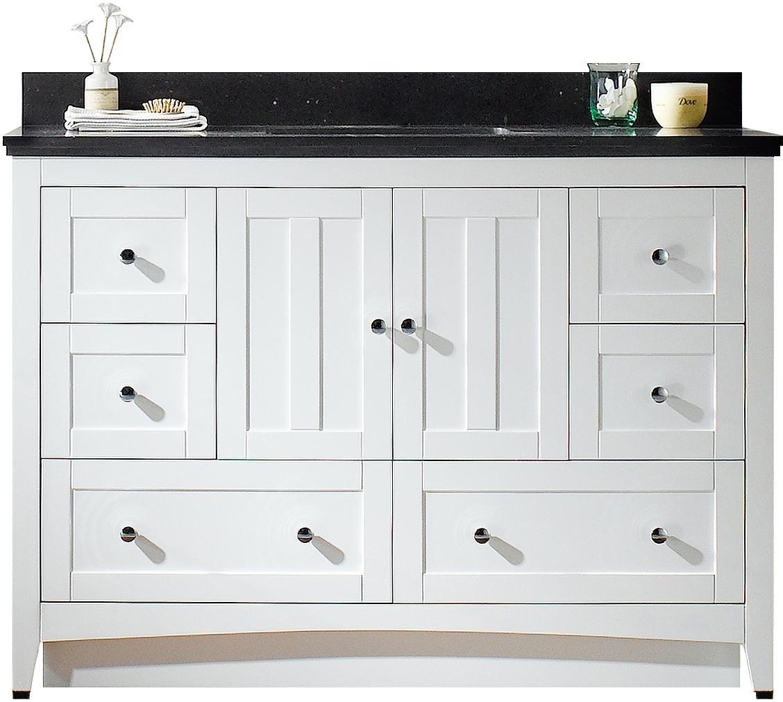 American Imaginations AI-999-17655 Modern Plywood-Veneer Vanity Set in White