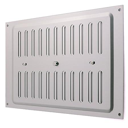 open close aluminium air vent 9 x 6 large double brick hit