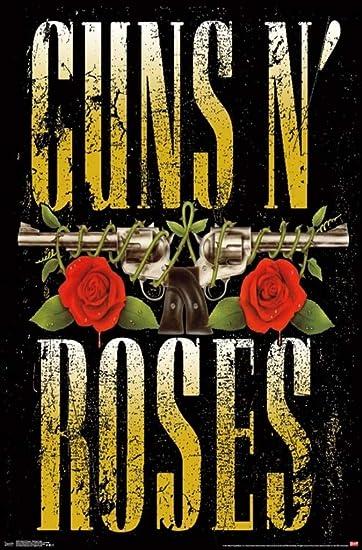 80/'s Vintage Eighties Art Photo Poster GUNS N ROSES 03 24 inch by 36 inch