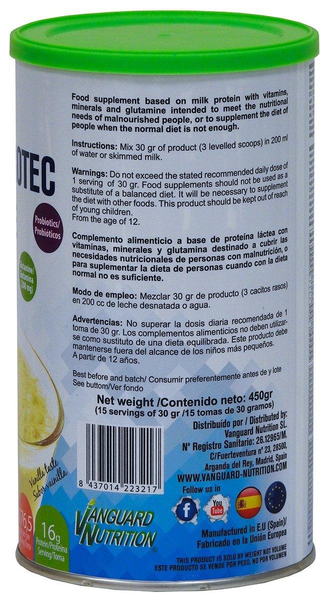 Batido a base de proteínas lácteas con vitaminas, minerales, probioticos, glutamina y aceite MCT. VNSup: Amazon.es: Salud y cuidado personal