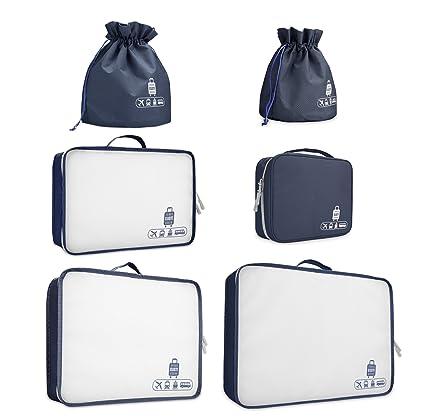 Viaje embalaje organizadores, maleta, equipaje, bolsas de ...