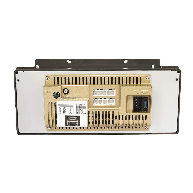 KKXXX 9Est/éreo para Auto con Android 8.0 para BMW E39 E53 X5 M5 Multimedia Reproductor de Video MP5 Am Radio FM Auto Navegaci/ón GPS Control de Volante de Enlace de Espejo BT