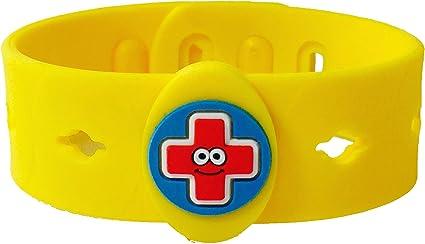 ALLERMATES Health Alert ALLERGY MEDICAL WRISTBANDS Kids Bracelet ID Child