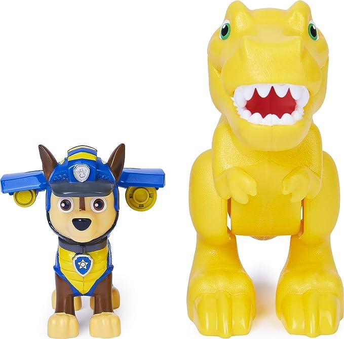 PAW Patrol Dino Rescue Rocky Dino Pup avec trois impressionnants chiffres cet ensemble apporter