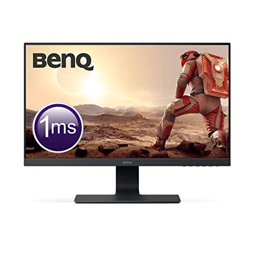 BenQ GL2580H Monitor Gaming de 25 Full HD 16 9 HDMI DVI VGA 1ms Eye Care Flicker free Low Blue Light Antirreflejo Color Negro