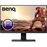 "BenQ GL2580H - Monitor Gaming de 24.5"" (Full HD, 16:9, HDMI, DVI, VGA, 1ms, Eye-Care, Flicker-free, Low Blue Light, Antirreflejo), Color Negro"