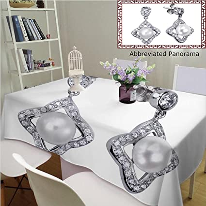 e0d8a9d4ab33 Amazon.com: Amavam Unique Custom Cotton and Linen Tablecloths Close ...
