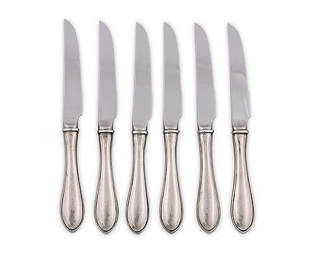 Amazon.com: Vagabond House peltre Gales cuchillo de carne ...