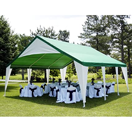 Amazon Com Outdoor Party Canopy 20x20 Ft Shelter Gazebo Awnings