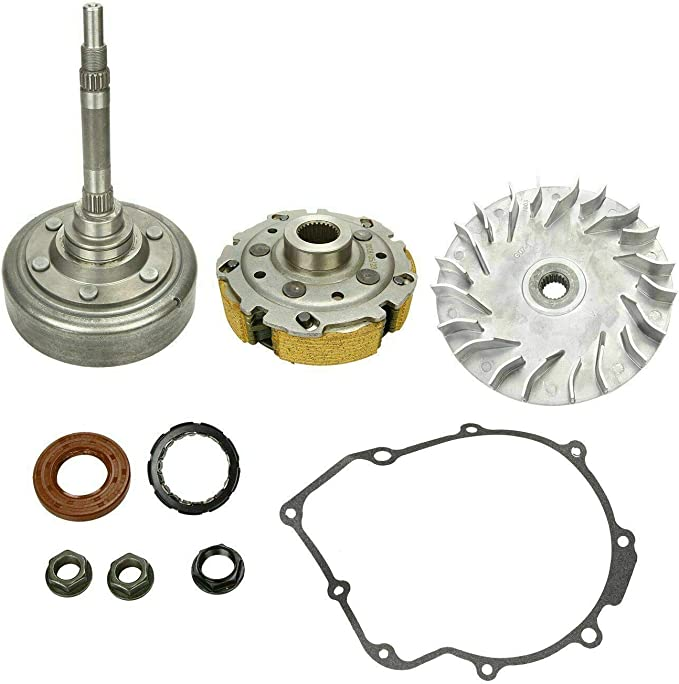 Yamaha Rhino Grizzly 660 02-08 Primary Drive Clutch Driven Housing Pad Shoe Kit