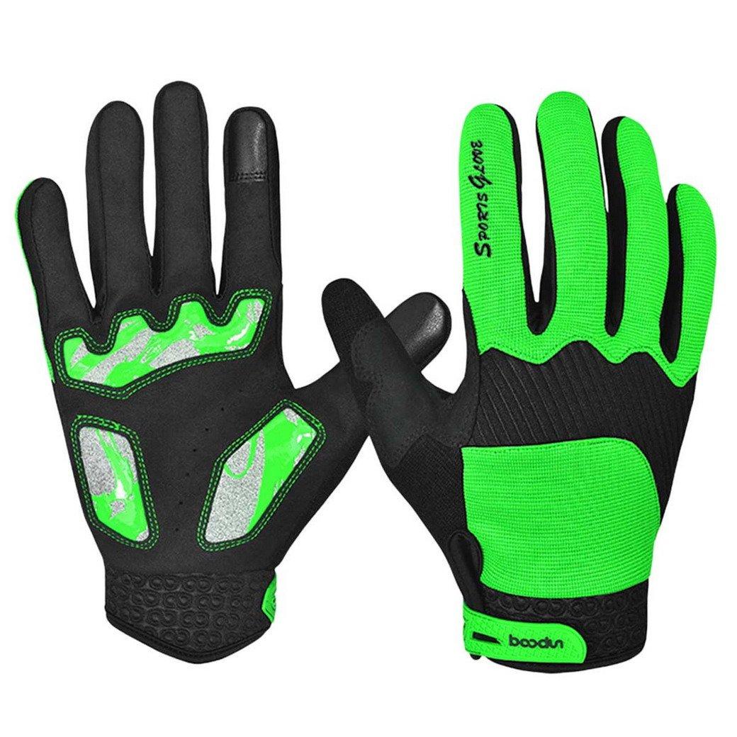Panegy Unisex Guantes Completos de Ciclismo Antideslizantes Gloves de Pantalla T/áctil para Hombre Mujer Bicicleta Bici MTB Deportes Outdoor