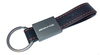 SMD Llavero Rectangular Cuero Acero Compatible con AMG ...