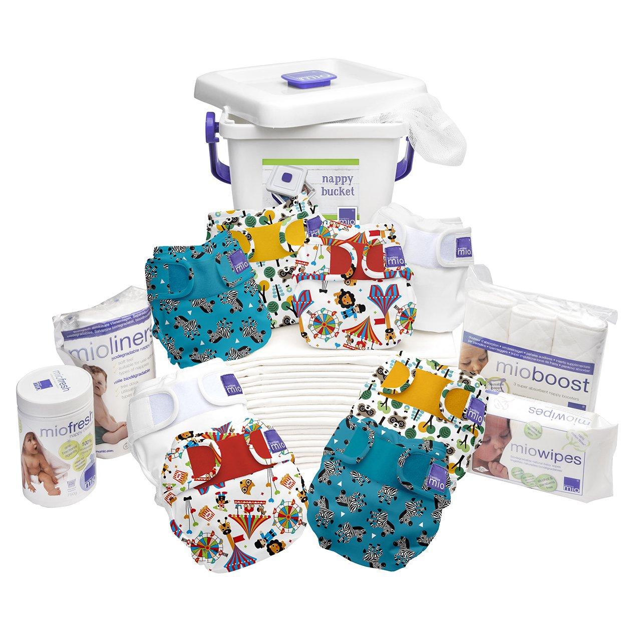 Bambino Mio Miosoft Premium Birth to Potty Pack, Carnival Bambino Mio UK PRPKMS CVL