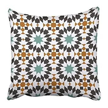 Amazon.com: Emvency Throw Pillow Covers Print Colorful ...