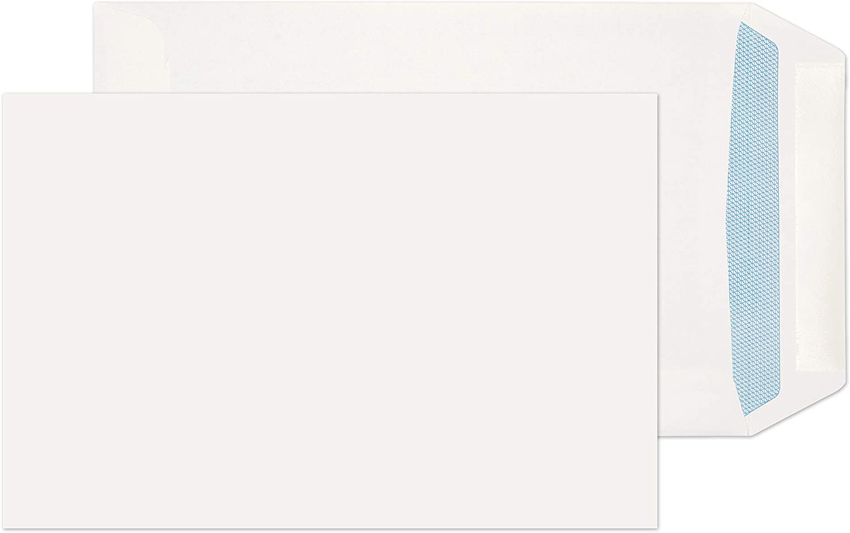C5 WINDOW White Self Seal Envelopes Quality 100gsm 25 50 100 250 500 229x162mm