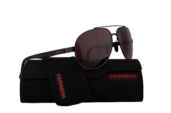 Amazon.com: Carrera 8025/S – anteojos de sol Negro Mate W ...