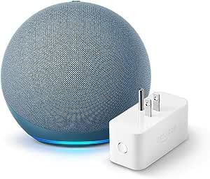 Echo (4th gen.), Twilight Blue with Amazon Smart Plug