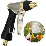Migimi Pistola da Giardino, Pistola Irrigazione Giardino/Pistola Spray per Lavaggio auto, Irrigazione del Giardino/Prato,Pulizia Camera/Pedana - Flusso d'acqua Regolabile