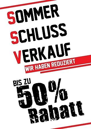 Poster Plakat Ssv Bis Zu 50 Rabatt Weiss Din A2 42 X 59 4 Cm