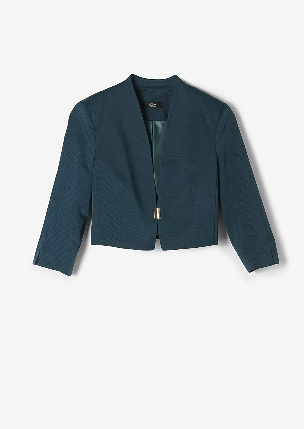 s.Oliver BLACK LABEL Damen Blazer 3//4 Arm