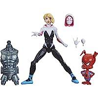 Figuras Marvel Legends Spider-Man: Into The Spider-Verse Gwen Stacy e Spider-Ham - F0255 - Hasbro