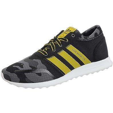 Zapatillas adidas - Los Angeles negro/amarillo/blanco talla: 40-2/3: Amazon.es: Zapatos y complementos