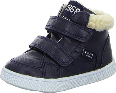 wholesale dealer 36c67 ccba7 Esprit Sneaker Bootie Kinderschuhe Unisex Sneaker Wollig Gefüttert  Schafsfell-Optik Klettverschluss