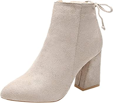 Embroidered Women High Heel Stilettos Nubuck Leather Point Toe Zip Ankle Boots