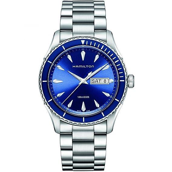 Hamilton H37551141 - Reloj (Reloj de Pulsera, Masculino, Acero Inoxidable, Acero Inoxidable