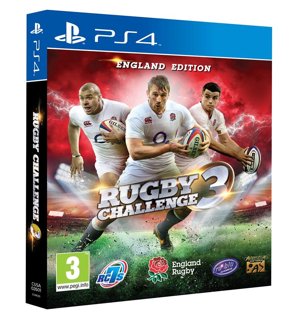 Rugby Challenge 3 (PS4) (輸入版)B01D2IIBH0