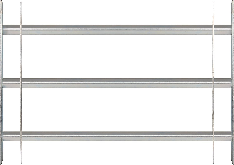 GAH-ALBERTS Ventana Rejilla secorino Basic–Extensible, galvanizado en Azul, 450x 700–1050mm, 1Pieza, 563707