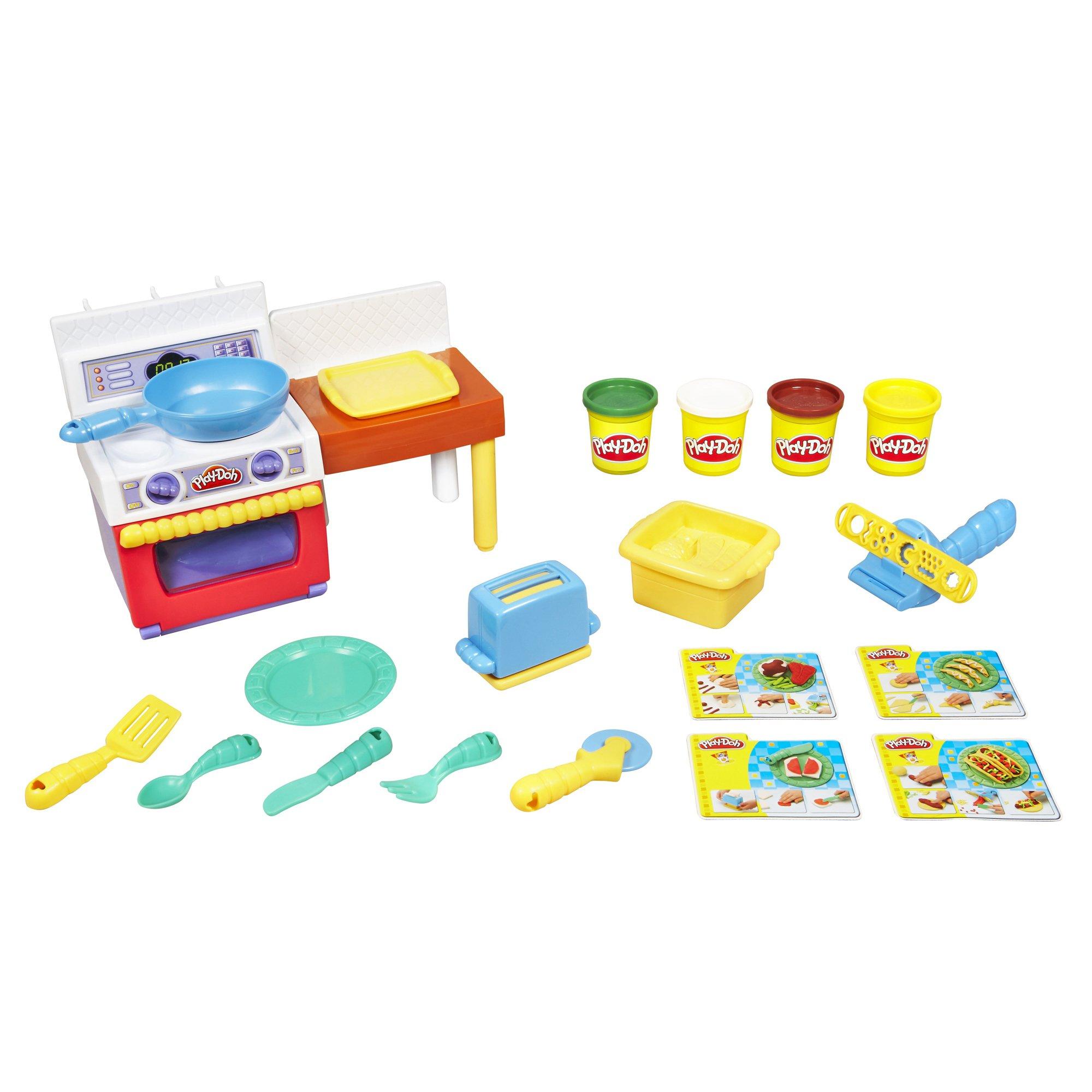 Play Doh - Loisir Créatif - Pâte à Modeler -  Le Super Cuistot + 4 Pots product image