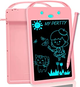 8.5in Lcd Drawing Tablet Doodle Board Sketch Pad - Electronic Graphic Tablet Toy Gifts for Kids Adults at Home School Office, Portable Writing Tablet for 3+ Year Old Boys Girls Writing & Learning