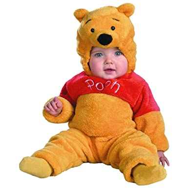 b89c444e8cd7 Amazon.com  Disguise Winnie The Pooh Deluxe Costume - Baby 12-18 ...