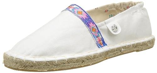 Banana Moon Rocasa, Alpargatas para Mujer, (Blanc Ethnique), 37 EU: Amazon.es: Zapatos y complementos