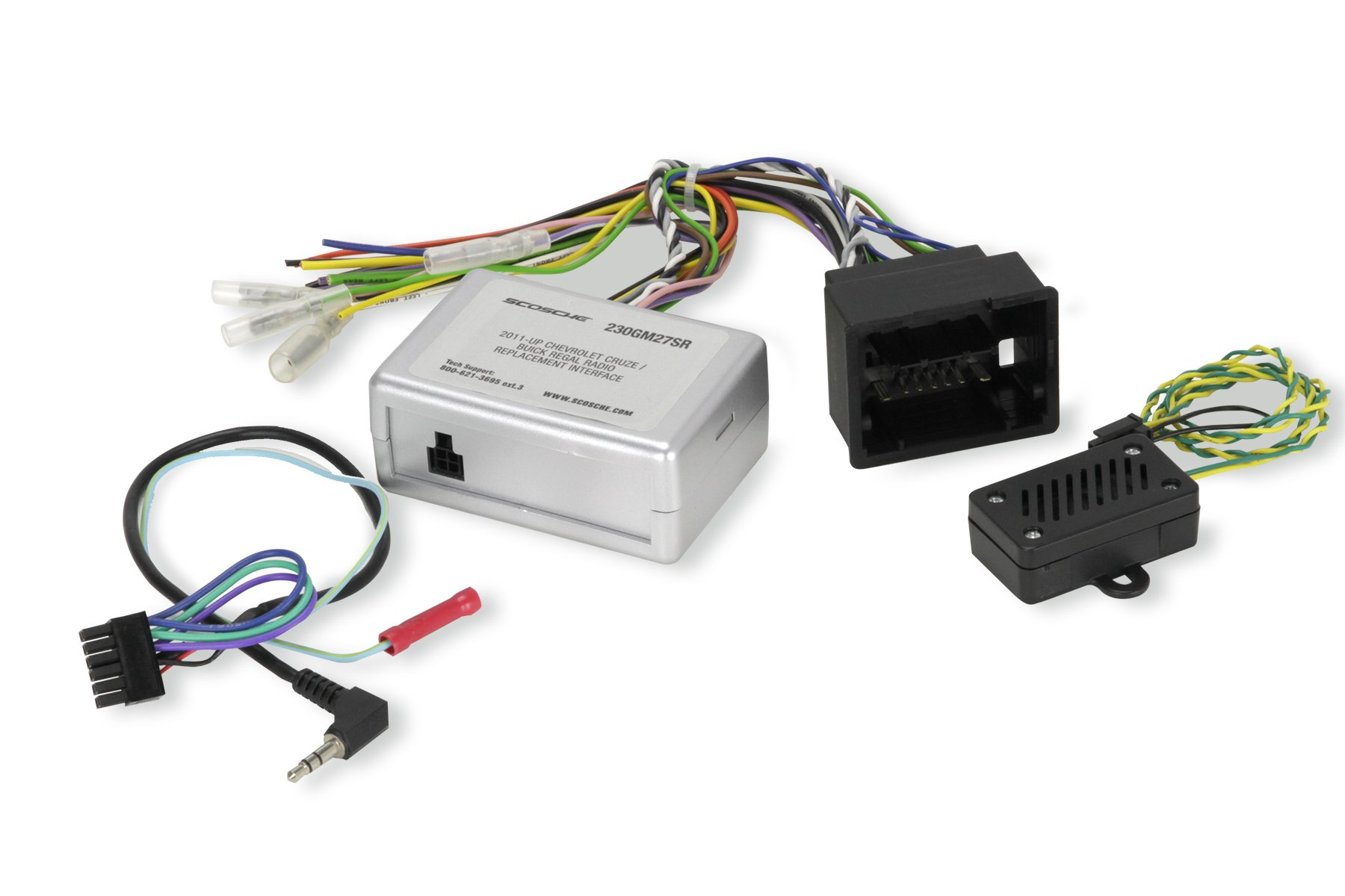 Scosche Gm27sr 2012 Up Chevrolet Trax Spark Cruze Stereo Wiring Harness Interface Replacement