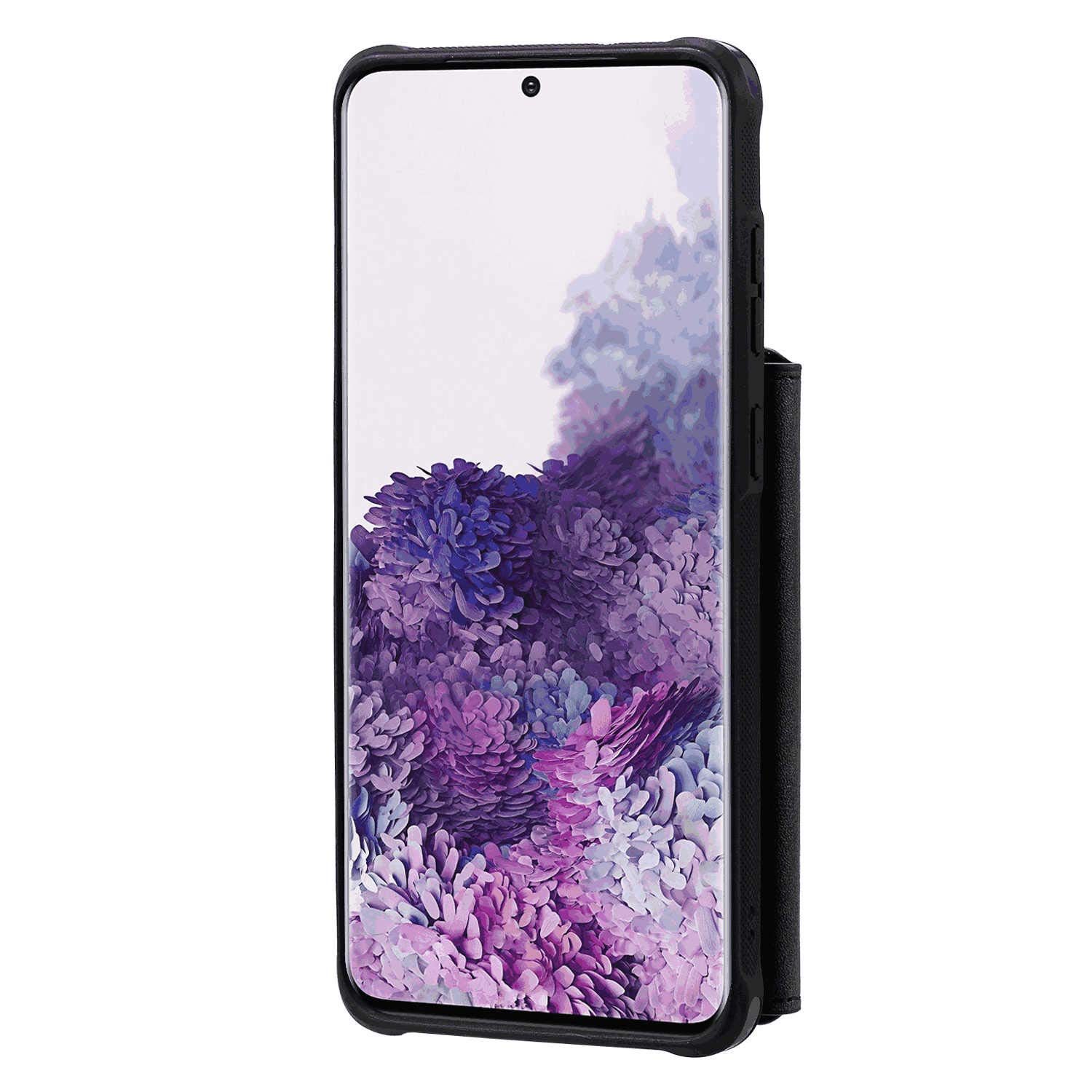Black Wallet Case for Samsung Galaxy Note 10 PU Leather Flip Cover Compatible with Samsung Galaxy Note 10